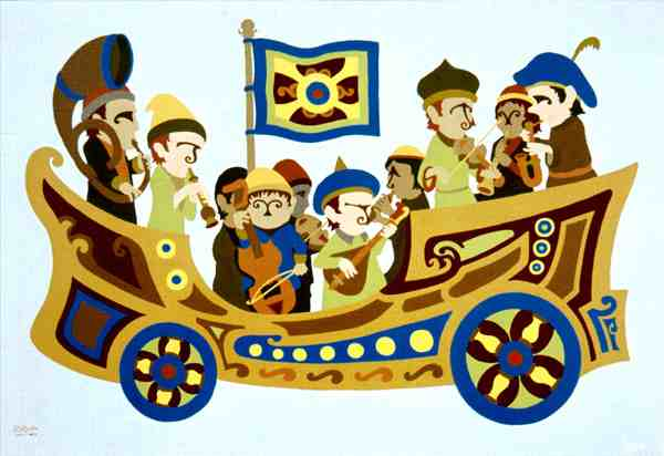"""The Baroque-mobile"" by Ernest Ruckle"