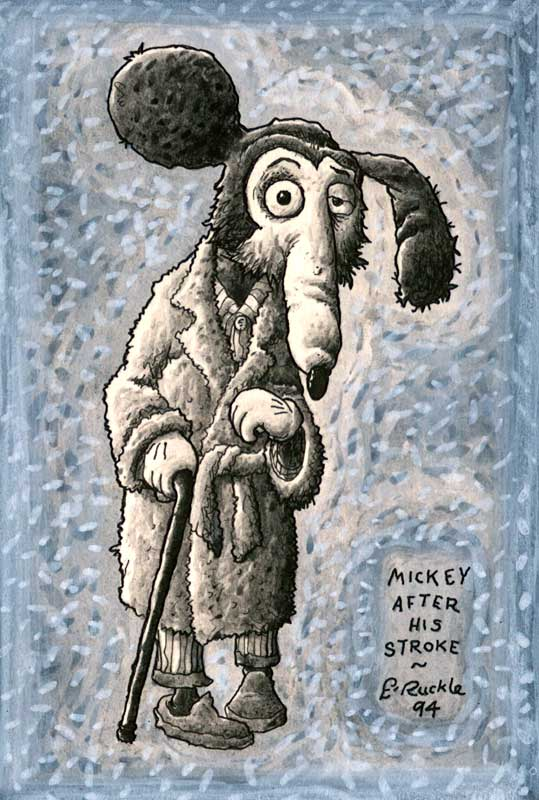 """Mickey after his Stroke"" by Ernest Ruckle"